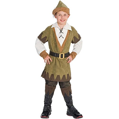 Child's Robinhood Costume (Size: Medium 8-10)