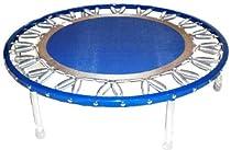 Needak Rebounder - Folding Soft Bounce Platinum Blue Edition Trampoline