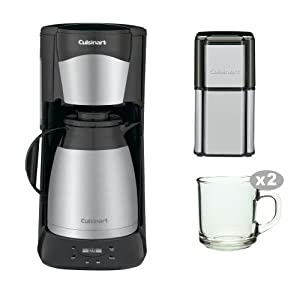 Cuisinart Coffee Maker Grinder Stuck Troubleshooting : Amazon.com: Cuisinart DTC975BKN DTC-975BKN 12 Cup Programable Thermal Coffeemaker with Grind ...