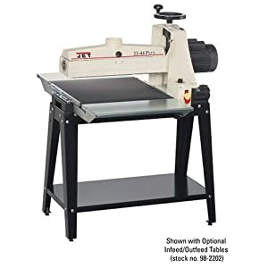 JET 649004K 22X44 Plus Drum 22-by-1-3/4-Inch Sander with Open Stand 115-Volt 1-Phase