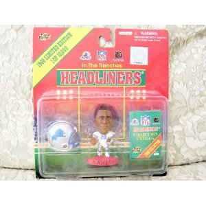 """Buy Low Price Corinthian 1998 Corinthian NFL Headliners """"In The Trenches"""" Barry Sanders – Detroit Lions (Limited Edition of 10,000) Figure (B000PIO1SE)"""