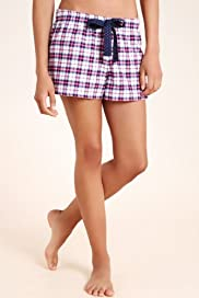 Limited Collection Pure Cotton Checked Shorts [T37-2410-S]