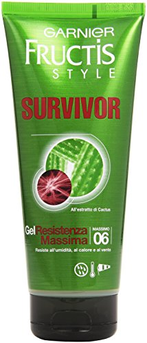 Garnier Fructis Survivor Gel Resistenza Massima, 200 ml