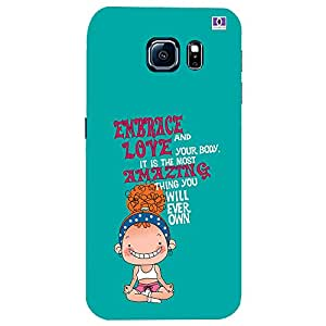 Embrace Love - Mobile Back Case Cover For Samsung Galaxy S7 Edge