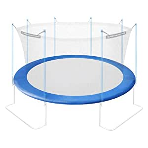 Ultrasport Coussin de protection rembourré pour trampoline Bleu bleu 251cm