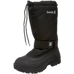 Kamik Men\'s Greenbay 4 Cold Weather Boot,Black,9 M US