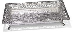Treta Beautiful 925 Sterling Silver Rectangular Shape Decorative Platter