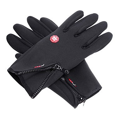 ZCL Wind Protection Waterproof Black Full Finger