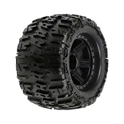 Proline 1184-11 Trencher 3.8 All Terrain Tires Mounted Fr/Re