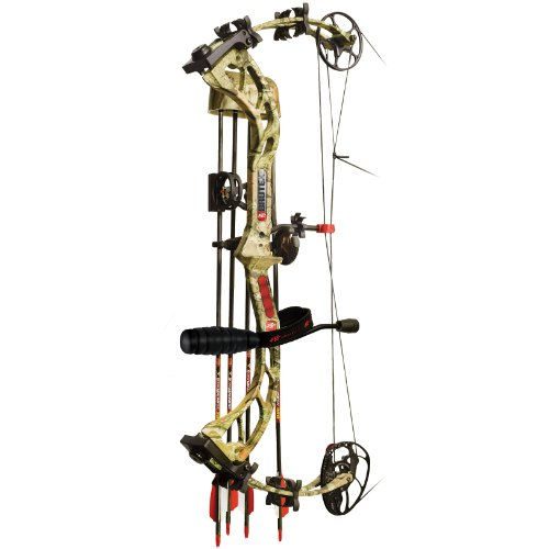 PSE Brute X Compound Bow Field Ready Package, MOBU INFINITY, RH 29/60