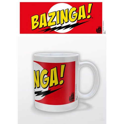 Big Bang Theory - Mug Bazinga Red (in One Size)