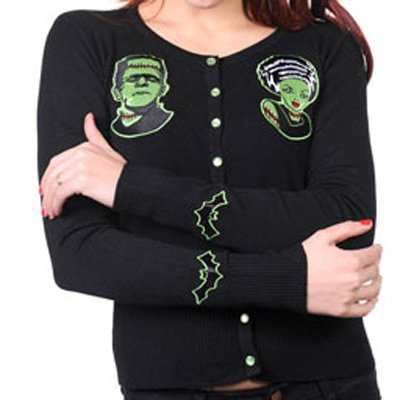 Short cardigan zombies - M/L - Banned