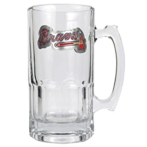 MLB 1 Liter Macho Mug - Primary Logo by Great American Products