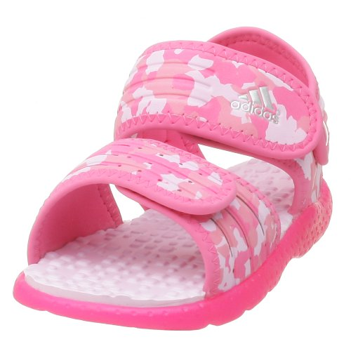 Adidas Infant/Toddler Akwah Sandal,Bloom/Silver/Pink,10 M Us Toddler front-1013553