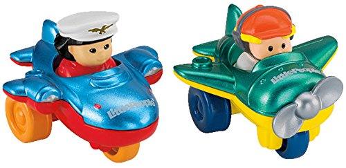 Fisher-Price Little People Wheelies Air Toy, 2-Pack - 1