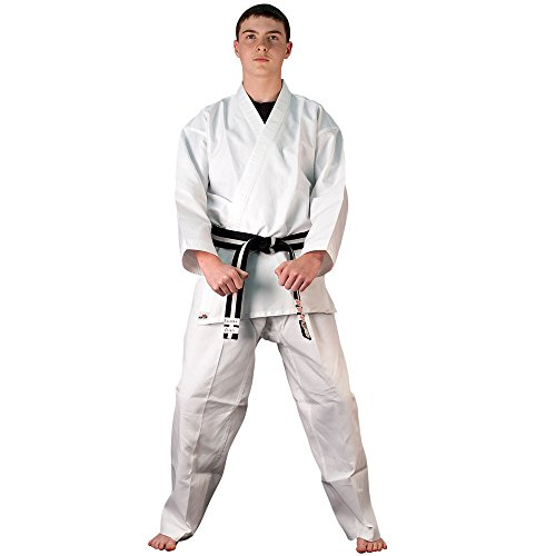 [Tiger Claw 6 OZ. Ultra Light Weight Karate Uniform - Size 00] (Ryu Costume)