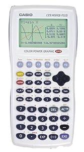 Casio CFX-9850GC Plus Graphing Calculator (White)