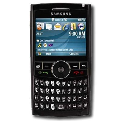 Samsung BlackJack II SGH-i617 Red Used AT&T Cell Phone