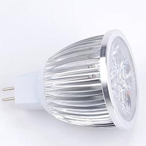 Factorykiss MR16 110V-220V Indoor LED Light Ceiling Light Bulb 12W Warm White 3000k-3500k by FK