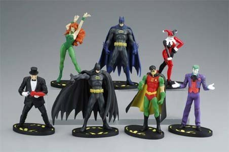 Buy Low Price Mattel Batman mini figure comics selection Trading Figures Complete Set – Japanese Import! (B000MVMWRQ)