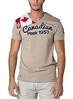 CANADIAN PEAK Camiseta Manga Corta Jailor (Beige)