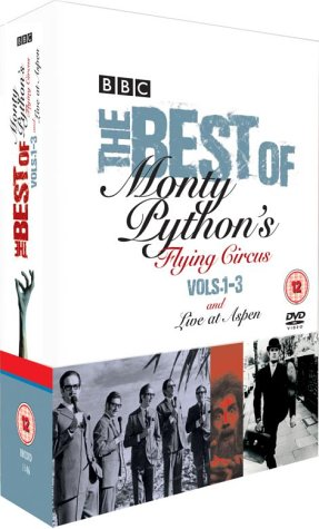 The Best of Monty Python's Flying Circus Volumes 1-3  / Live at Aspen [DVD]  [1969]