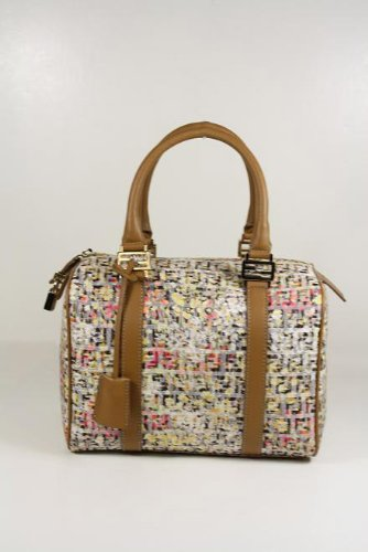 Fendi Handbags Floral Sequin Canvas and Leather BL068