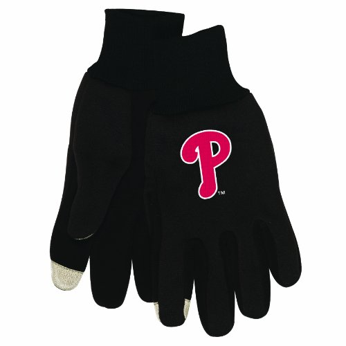 MLB Philadelphia Phillies Technology Touch Gloves at Amazon.com