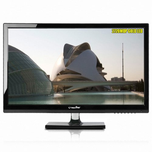"Crossover 2720Mdp Gold Led 27"" 27Inch Multi Monitor S-Ips, Qhd 2560 X1440 High Resolution, 16:9, 1000 : 1, Hdmi, Dvi (Dual Link), Vga, Dp Port, Tilt, Vesa Mount, Built In Speaker * Thunderbolt Display"