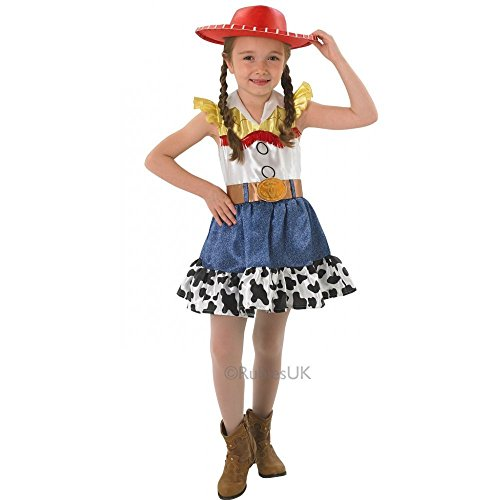 Kids Girls Small 3-4 Yrs Toy Story Jessie Cowgirl Fancy Dress Costume Outfit