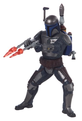 Buy Low Price Hasbro Star Wars Episode II Attack of the Clones Sneak Preview Figure – Jango Fett (B000063YF2)