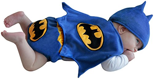 Princess Paradise Batman Diaper Cover Set - 0 - 3 months