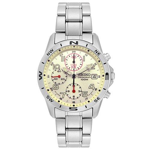 SEIKO 腕時計 クロノグラフ メンズ SND385