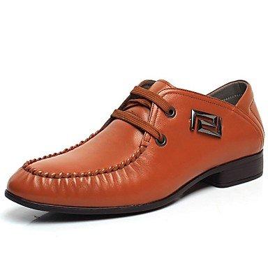 FAGL Mens Shoes Closed Toe Flat Heel Leather Oxfords Lace-up Shoes More  Colors avaliable 69e43e2fe