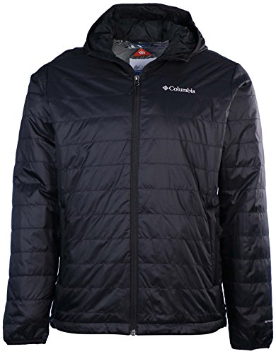 Columbia Men's Crested Butte Hooded Omni-Heat Jacket, Black (M) (Heat Jackets compare prices)