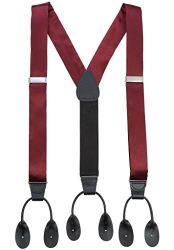 Producing some of the finest men's braces and suspenders available, Trafalgar offers a wide array of expertly created and crafted, classic and fashionable designs for day and formal occasions.