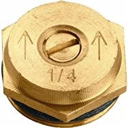 Orbit53052Brass Sprinkler Head Insert-QTR PATTERN BRASS INSERT