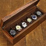 Relic Series Heirloom 6-pc Watch Box - Reclaimed Wood