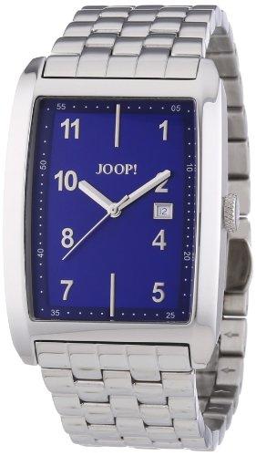 Joop  0 - Reloj de cuarzo para hombre, con correa de acero inoxidable, color plateado