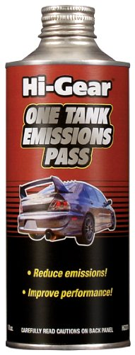 Hi-Gear HG3272e 'One Tank Emissions Pass' Formula Fuel Additive