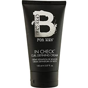 TIGI Bed Head for Men In Check Curl Defining Cream, 5.07 Ounce