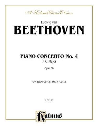 Piano Concerto No. 4 in G, Op. 58 (Kalmus Edition)