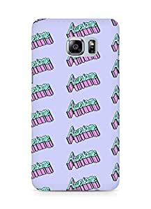 Amez designer printed 3d premium high quality back case cover for Samsung Galaxy S6 Edge Plus (awesome)
