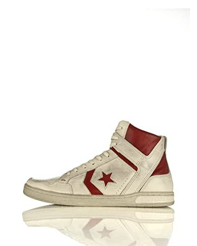 Converse Sneaker Weapon Varvatos Mid Leather Faded Weapon Varvatos Mid Leather Faded