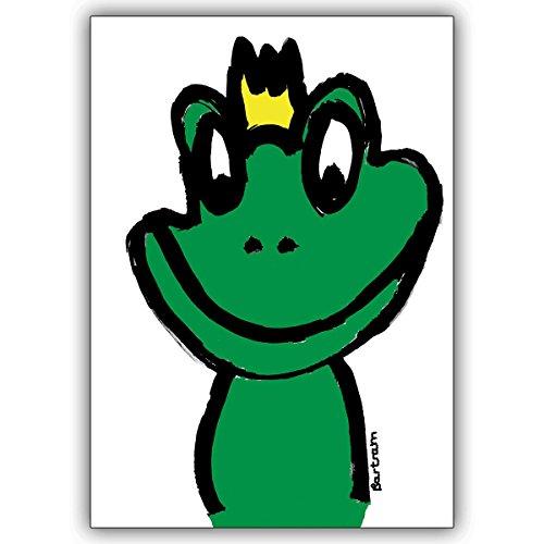 1 Valentinskarte: Verschicken Sie den Froschkönig als Valentinskarte