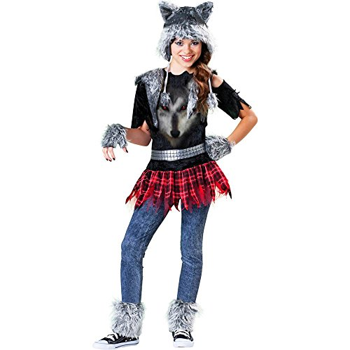Wear Wolf Girl Tween Kids Costume