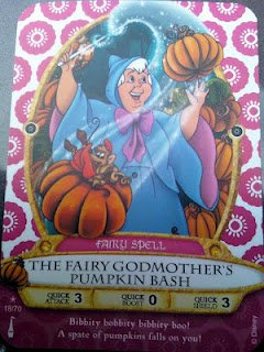 Sorcerers Mask of the Magic Kingdom Game, Walt Disney World - Card #18 - The Fairy Godmother's Pumpkin Bash - 1