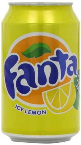 Fanta Icy Lemon Soft Drink Can 330 Ml (pack Of 24)