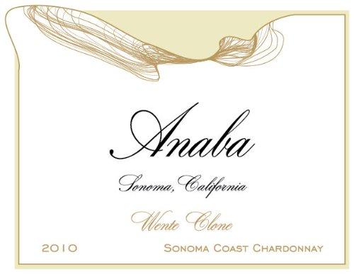 2010 Anaba Wente Clone Chardonnay White Wine