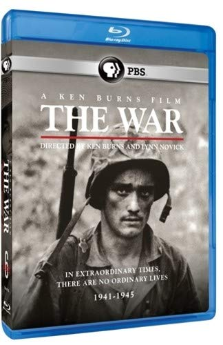 Blu-ray : The War: A Ken Burns Film, Directed By Ken Burns And Lynn Novick (Boxed Set)